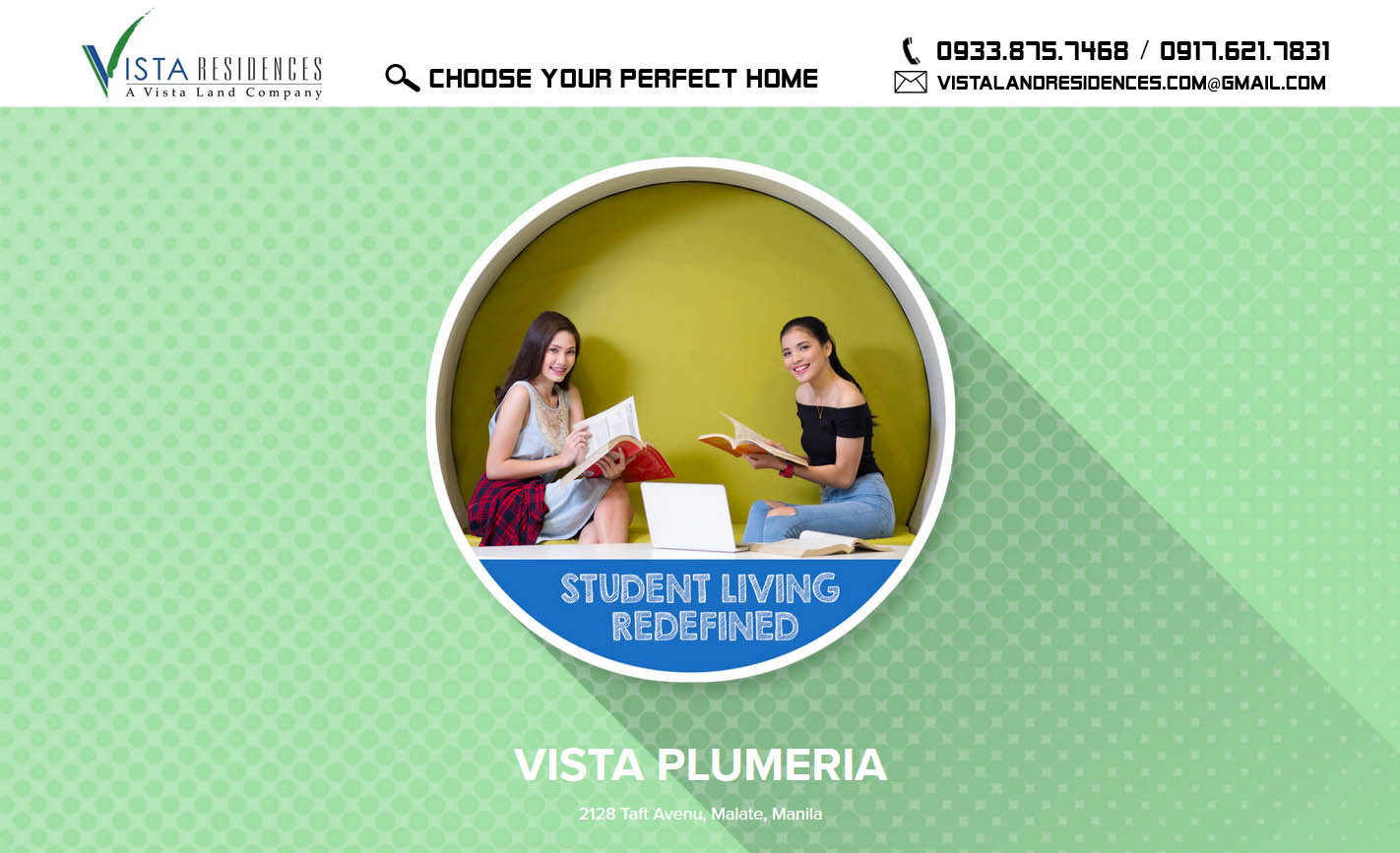 Vista Land Residences Vista Plumeria banner