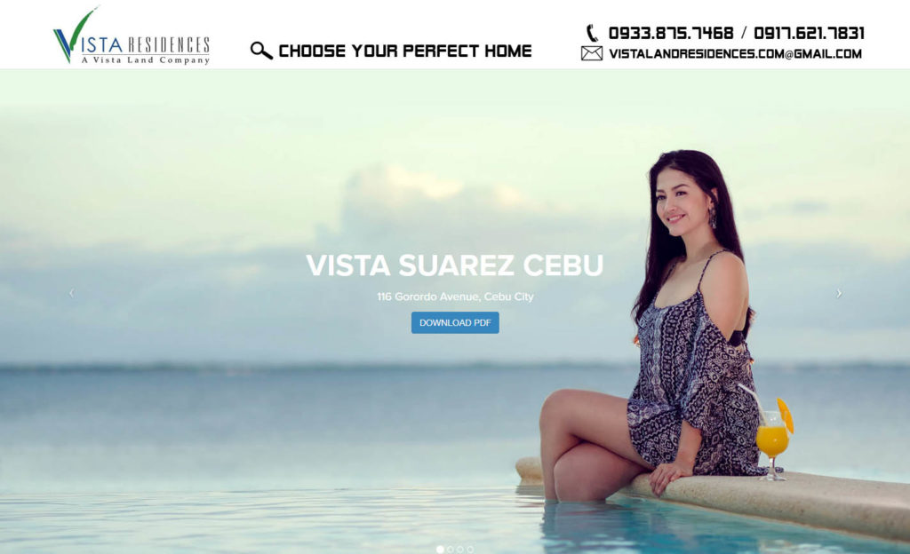 Vista Land Residences Vista Suarez Cebu banner
