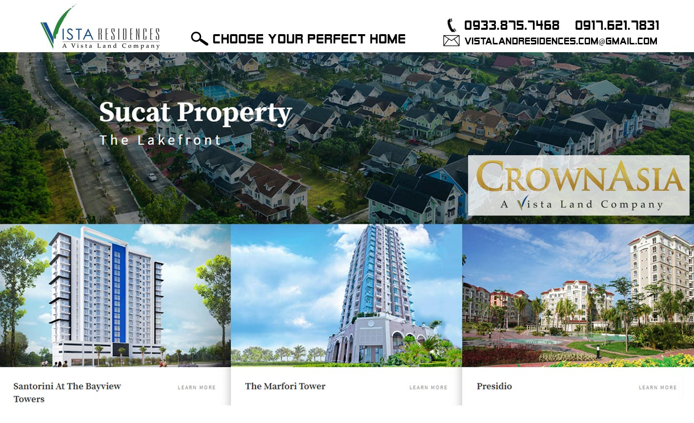 Crown Asia Paranaque Projects