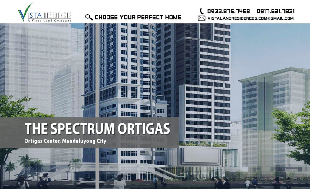 Vista Land Residences The Spectrum Ortigas Mandaluyong Condo banner