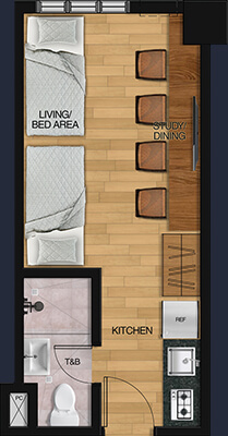Vista GL Taft floorplan - 2 Bunk Beds